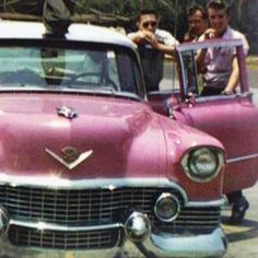 State Police stopped a pink and white Cadillac for speeding and realized the king of rock and roll was driving.