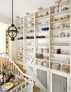 It's time to get organized. These elegant kitchens have solutions for all your storage needs