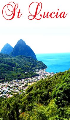 St Lucia, one of the many beautiful West Indian islands, is located in the…