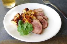 Recipe for citrus-marinated pork with spicy pineapple - The Boston Globe