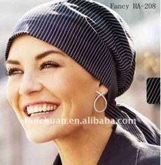 fashion alopecia silk hat / headscarf /hijab / turban, View ...