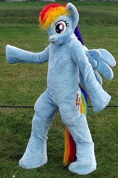 マイリトルポニー レインボーダッシュ着ぐるみ 馬着ぐるみ 大人用 手作りhttp://www.mascotshows.jp/product/Rainbow-Horse-kigurumi.html