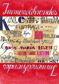 Geburtstagskalender via fraukelehn. Click on the image to see more!