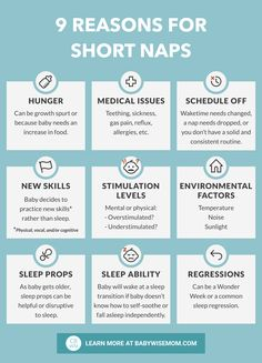 Absolutely everything you need to know to fix short baby naps and get baby taking good naps. Know common reasons for short naps and how to fix them. Get 9 reasons for short naps and how to fix short baby naps. Help Baby Sleep, Get Baby, Good Night Sleep, Baby Tips, Baby Hacks, Baby Sleep Schedule, Sleeping Through The Night, Babies First Year, Sleep Deprivation