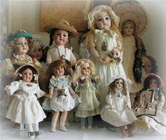 Настоящие. Антикварные куклы / Винтажные антикварные куклы, реплики / Бэйбики. Куклы фото. Одежда для кукол