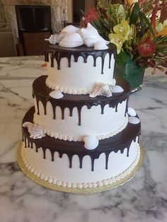In part 3 of our series, we visit Have Your Cake - one of San Francisco's most renowned wedding bakeries for over 20 years. Wedding Desserts, Wedding Cakes, Brides Cake, Bakeries, Yummy Cakes, San Francisco, Birthday Cake, Food, Wedding Gown Cakes