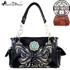 Montana West Concho Collection Concealed Satchel