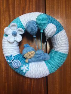 Crochet Pouf, Crochet Wreath, Crochet Baby Toys, Crochet Lace Edging, Crochet Gloves, Baby Blanket Crochet, Crochet Dolls, Baby Boy Knitting Patterns, Crochet Patterns Amigurumi