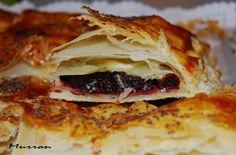 MURRON COCINA: empanada de dátiles, queso de cabra y dátiles