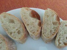 Domáce bagety takmer ako francúzske (fotorecept) - recept | Varecha.sk Food And Drink, Bread, Brot, Baking, Breads, Buns