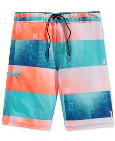 Hurley Men's Kingsroad Light Stripe Boardshorts