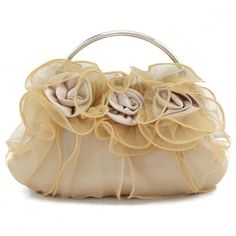 8 Colors Flowers Lace Bridal Bridesmaid Evening Bag Ladies Clutch Bag