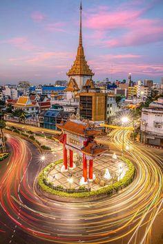 Thailand Destinations, Paris Skyline, Travel, Viajes, Destinations, Traveling, Trips, Tourism