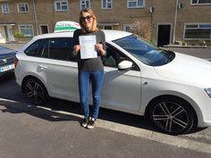 Maddie Veck passed with our lady instructor, Lianne, FIRST TIME as well!