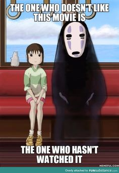 My favorite anime - Spirited Away