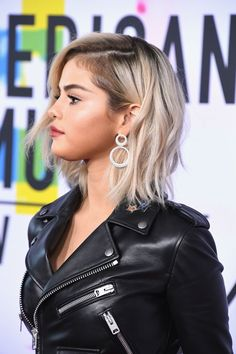November 19: Selena on the red carpet at the AMAs.
