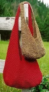 Crochet & Knitting Patterns from Oat Couture Crochet Handbags, Crochet Purses, Crochet Bags, Loom Knitting, Hand Knitting, Knitting Projects, Crochet Projects, Knitted Bags, Knit Bag
