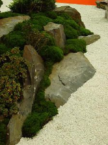 the little japanese species - Japanese Garden Design Zen Rock Garden, Buddha Garden, Dry Garden, Moss Garden, Modern Garden Design, Backyard Garden Design, Bonsai Garden, Landscape Design, Small Japanese Garden