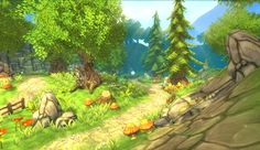 Asset Store - Hand Painted Forest Pack $35