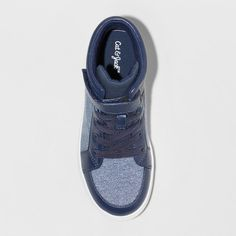 low priced a5134 7985e Boys  Weldon High Top Sneakers - Cat  amp  Jack Navy (Blue) 5