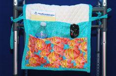Walker caddy walker bag walker tote purse by DreamersStudio, $23.99