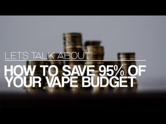 LET'S TALK ABOUT: The Cost of Vaping and How to Calculate Your Mixes - YouTube