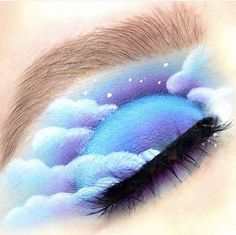 Gorgeous Makeup: Tips and Tricks With Eye Makeup and Eyeshadow – Makeup Design Ideas Makeup Eye Looks, Beautiful Eye Makeup, Eye Makeup Art, Crazy Makeup, Cute Makeup, Eyeshadow Makeup, Cheap Makeup, Makeup Brushes, Fairy Makeup