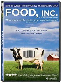 It's disturbing and inspiring at once, but the more you see this film, the more you will think twice about what you eat and where your food actually comes from. [ I agree. I loved this movie, too. Need to post a bunch of my favourite change-inspiring documentaries.]