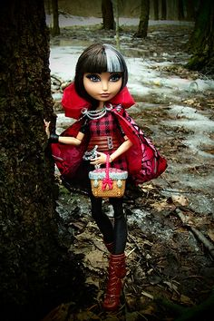 Cerise Hood in the woods | Flickr - Photo Sharing!