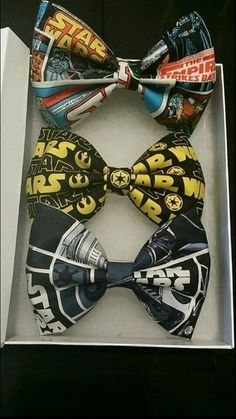 I don't wear Bow Ties, but if I did, I'd wear Star Wars #StarWars #MostInterestingBowTies