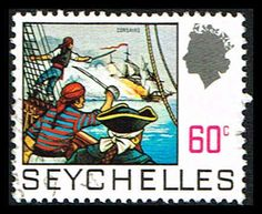 Seychelles 264 Stamp Corsairs Stamp IO SEY 264-1 Pirates (http://www.bmastamps2.com/stamps/island-nations/seychelles/seychelles-264-stamp-corsairs-stamp-io-sey-264-1/)