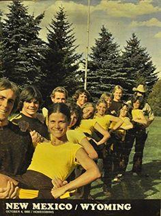October 4, 1980 New Mexico Vs. Wyoming Football Program