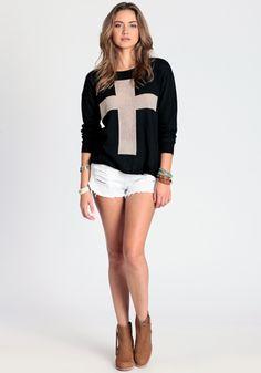 Cross Sweater By John Galt $58