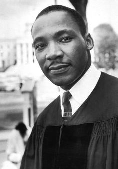 Martin Luther King.  Morehouse Man.