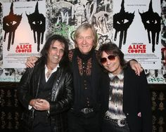 Alice Cooper, Dennis Dunaway, Neil Smith and Mark Weiss