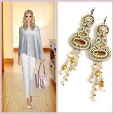 Dori's bridal earrings, earrings you can wear for your wedding and beyond..... #doricsengeri #coutureearrings #bridalearrings #nudes #earrings #covetfashion #weddingdayaccessories