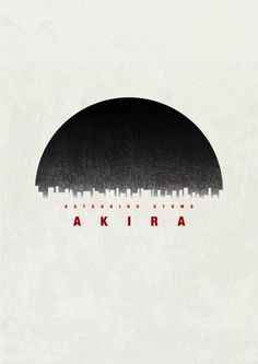 Akira - Minimalist poster