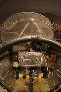 Fokker EIII Eindecker cockpit - WWI Gallery