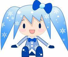 雪ミクの画像(プリ画像)
