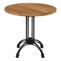 """Cafe tables for our """"Genius Bar."""""""