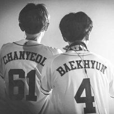 #Chanbaek #Chanyeol #Baekhyun #love #kawaii #South Korea #Korean boy #ship #exo