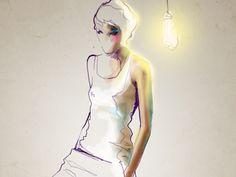 sketch by Svetlana Ihsanova
