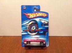 Hot Wheels Dodge Ram 1500 #141 2006 Magenta 1990s Pickup w/ Flames #HotWheels #Dodge