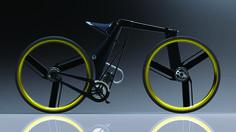 Folding Gas/Electric Bicycle - mikekimdesign