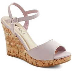 ModCloth Pastel Refreshed and Ready Wedge