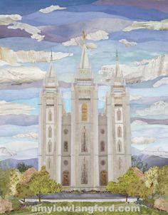 """Salt Lake Temple - 11x14"""" Prnt. $75.00, via Etsy."""