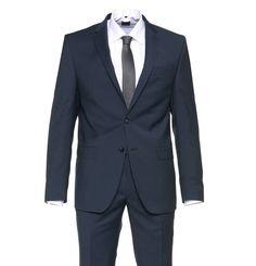 #DANIEL #HECHTER #Anzug, #reine #Schurwolle, #Reverskragen - Dieser Anzug von DANIEL HECHTER präsentiert sich in…