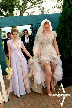 A-Chrisst-Avant-garde-Bridal-core-wedding-dress-5 by Andru Chrisst, via Flickr