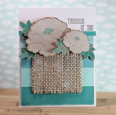 Petals and Stems Clear Photopolymer Stamps   Avery Elle