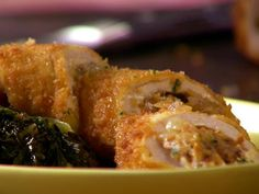 Chicken Roulades w/Chorizo and Manchego  http://www.foodnetwork.com/recipes/anne-burrell/chicken-roulades-with-chorizo-and-manchego-recipe/index.html